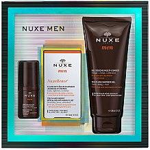 Düfte, Parfümerie und Kosmetik Gesichts- und Körperpflegeset für Männer - Nuxe Men Nuxellence (Augencreme 15ml + Gesichtsfluid 50ml + Duschgel 200ml)