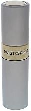 Düfte, Parfümerie und Kosmetik Nachfüllbarer Parfümzerstäuber silber - Travalo Twist and Spritz Atomiser Silver