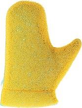 Düfte, Parfümerie und Kosmetik Massage-Handschuh Aqua 6021 gelb-grün-blau - Donegal Aqua Massage Glove