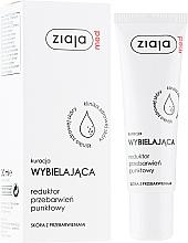 Düfte, Parfümerie und Kosmetik Anti-Aging Autobronzante für das Gesicht gegen Pigmentflecken mit SPF 30 - Ziaja Med Whitening Treatment Reducing Stain Point