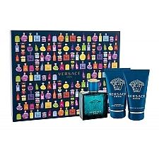 Düfte, Parfümerie und Kosmetik Versace Eros - Duftset (Eau de Toilette 50ml + After Shave Balsam 50ml + Duschgel 50ml)