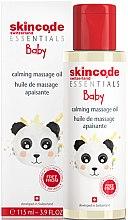 Düfte, Parfümerie und Kosmetik Beruhigendes Massageöl für Babys - Skincode Baby Calming Massage Oil