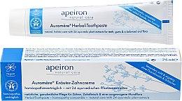 Düfte, Parfümerie und Kosmetik Homöopathische Kräuter-Zahncreme - Apeiron Herbal Toothpaste Homeopathic