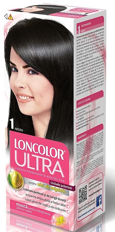Haarfarbe mit Mandelöl - Loncolor Ultra
