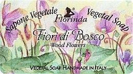 Düfte, Parfümerie und Kosmetik Naturseife Wood Flowers - Florinda Sapone Vegetale Soap Wood Flowers