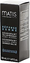 Deo Roll-on - Matis Reponse Homme Alcohol Free Deodorant roll-on — Bild N2