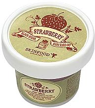 Düfte, Parfümerie und Kosmetik Maske-Peeling mit schwarzem Zucker und Erdbeere - Skinfood Black Sugar Strawberry Mask Wash Off
