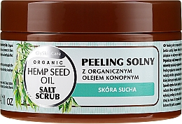 Düfte, Parfümerie und Kosmetik Salzpeeling für den Körper mit Bio Hanföl - GlySkinCare Hemp Seed Oil Salt Scrub