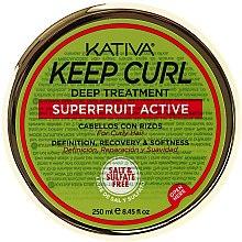 Düfte, Parfümerie und Kosmetik Intensive Haarbehandlung für lockiges Haar - Kativa Keep Curl Deep Treatment