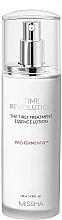 Düfte, Parfümerie und Kosmetik Anti-Aging Essenz-Lotion mit fermentiertem Hefeextrakt - Missha Time Revolution The First Treatment Essence Lotion