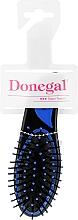 Düfte, Parfümerie und Kosmetik Kompakte Haarbürste 9002 schwarz-blau - Donegal