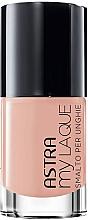 Düfte, Parfümerie und Kosmetik Nagellack - Astra Make-up My Laque