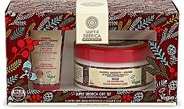 Düfte, Parfümerie und Kosmetik Haarset - Natura Siberica Super Siberica Professional Gift Set (Haarcreme 50ml + Haarmaske 300ml)