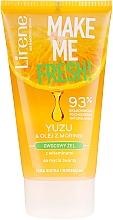 Düfte, Parfümerie und Kosmetik Gesichtswaschgel mit Yuzu-Extrakt und Moringa-Öl - Lirene Make Me Clean! Fresh Vegetable Gel