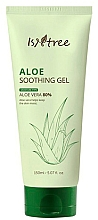 Düfte, Parfümerie und Kosmetik Feuchtigkeitsspendendes und beruhigendes Gesichtsgel gegen Rötungen mit 80% Aloesaft - Isntree Aloe Soothing Gel