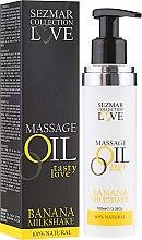 Düfte, Parfümerie und Kosmetik Entspannungs Massageöl Love mit Bananenaroma - Sezmar Collection Love Massage Oil