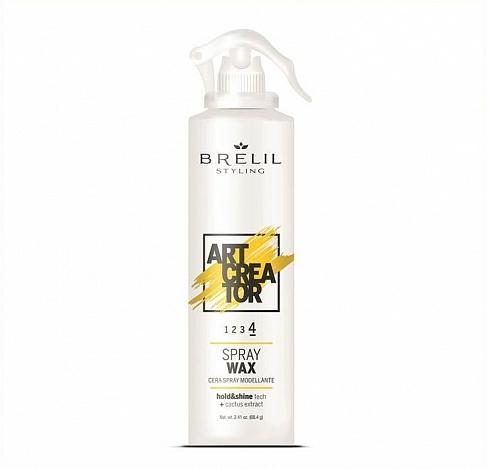 Haarwachs in Spray mit Kaktusextrakt - Brelil Art Creator Gel Spray Wax — Bild N1
