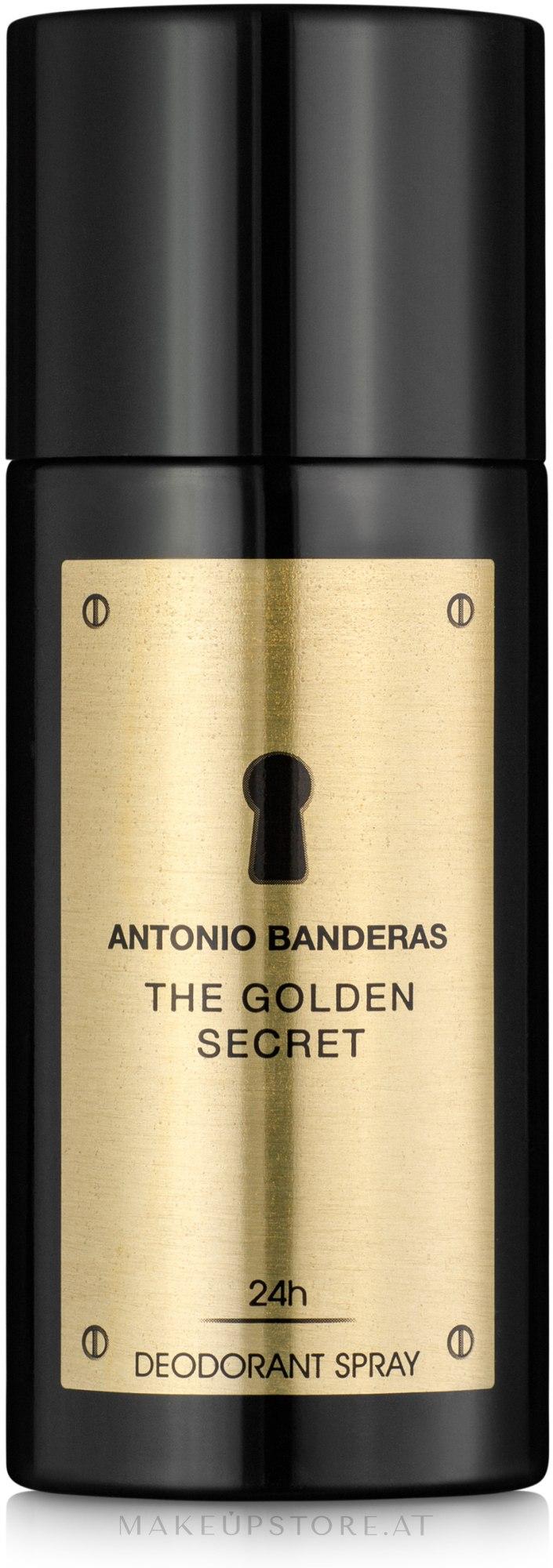 Antonio Banderas The Golden Secret - Deospray  — Bild 150 ml