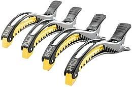 Düfte, Parfümerie und Kosmetik Haarclips schwarz-gelb - Dajuja Penguin Clip Black-Yellow