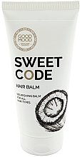 Düfte, Parfümerie und Kosmetik Nährende Haarspülung mit Kokos für alle Haartypen - Good Mood Sweet Code Hair Balm