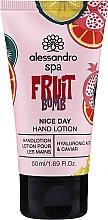 Düfte, Parfümerie und Kosmetik Handlotion mit Hyaluronsäure und Kaviar - Alessandro International Spa Fruit Bomb Hand Lotion