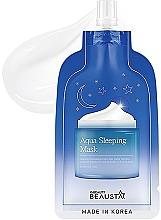 Düfte, Parfümerie und Kosmetik Feuchtigkeitsspendende Nachtmaske für das Gesicht mit Aromaölen - Beausta Aqua Sleeping Mask