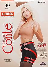 Düfte, Parfümerie und Kosmetik Strumpfhose für Damen X-Press 40 Den Natural - Conte
