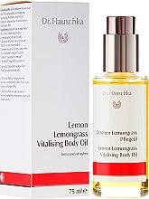 Düfte, Parfümerie und Kosmetik Vitalisierendes Körperöl mit Zitrone und Zitronengras - Dr. Hauschka Lemon Lemongrass Vitalizing Body Oil