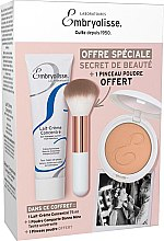 Düfte, Parfümerie und Kosmetik Gesichtspflegeset - Embryolisse Set Beauty Secret (Gesichtscreme 75ml+Puder 12g+Make-up Pinsel)