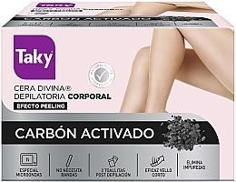 Düfte, Parfümerie und Kosmetik Enthaarungswachs mit Aktivkohle - Taky Activated Carbon Body Depilatory Wax