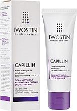 Düfte, Parfümerie und Kosmetik Intensive, Hautrötungen reduzierende Gesichtscreme SPF 20 - Iwostin Capillin Intensive Cream SPF 20