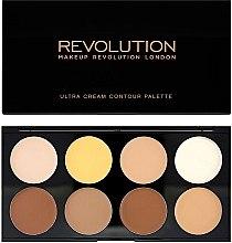 Düfte, Parfümerie und Kosmetik Highlighter Gesichtspalette - Makeup Revolution Ultra Cream Contour Palette