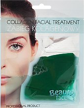 Düfte, Parfümerie und Kosmetik Kollagenmaske mit Gurkenextrakt - Beauty Face Cucumber Extract Collagen Mask