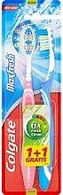 Düfte, Parfümerie und Kosmetik Zahnbürste mittel Max Fresh blau, rosa 2 St. - Colgate Max Fresh Medium