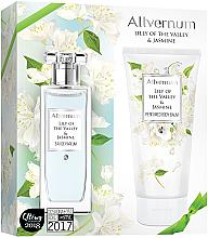 Düfte, Parfümerie und Kosmetik Allvernum Lily Of The Valley & Jasmine - Duftset (Eau de Parfum/50ml + Körperlbalsam/200ml)