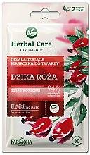 Düfte, Parfümerie und Kosmetik Verjüngende Gesichtsmaske mit Wildrose - Farmona Herbal Care
