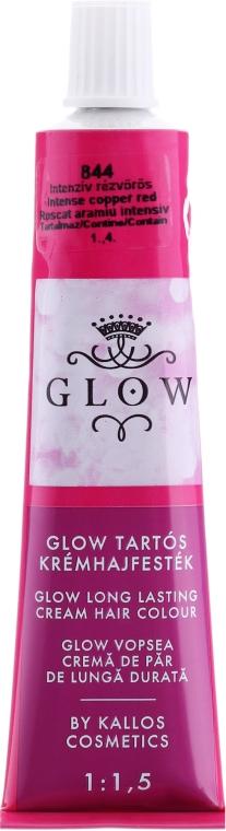 Haarfarbe - Kallos Cosmetics Glow Long Lasting Cream Hair Colour — Bild N2