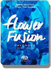 Düfte, Parfümerie und Kosmetik Beruhigende Tuchmaske für das Gesicht mit Lavendel - Origins Flower Fusion Lavender Soothing Sheet Mask