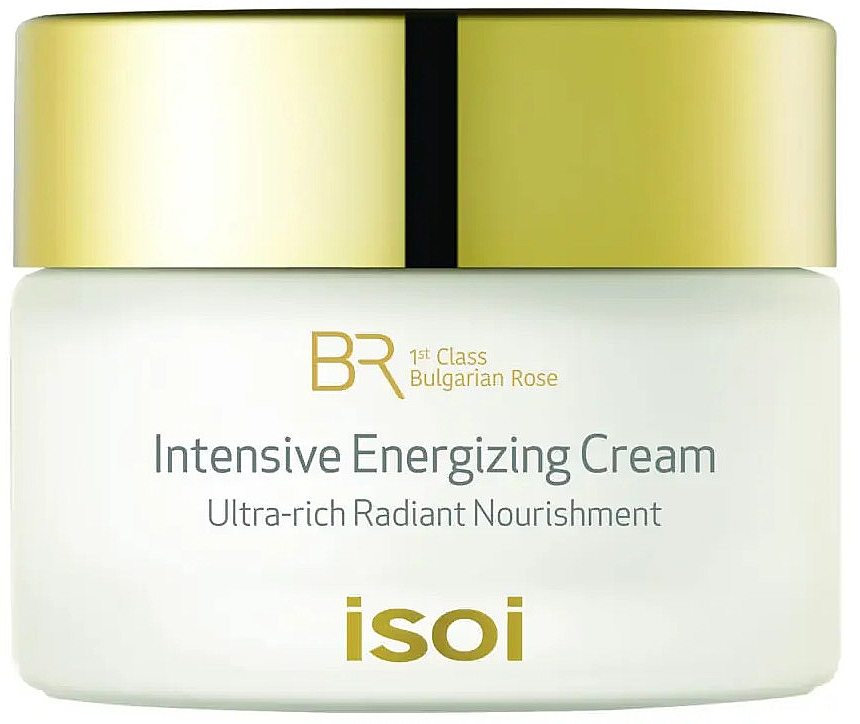 Intensiv energisierende Gesichtscreme mit Chrysanthemenblüten-Extrakt - Isoi Bulgarian Rose Intensive Energizing Cream — Bild N1