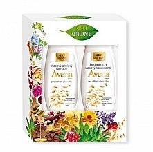 Düfte, Parfümerie und Kosmetik Haarpflegeset - Bione Cosmetics Avena Sativa (Shampoo 260ml + Haarspülung 260ml)