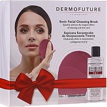 Düfte, Parfümerie und Kosmetik Gesichtspflegeset - DermoFuture (Mizellengel zum Abschminken 150ml + Gesichtsreinigungsbürste 1 St.)