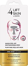 Düfte, Parfümerie und Kosmetik Peel-Off Gesichtsmaske mit Bambuskohle - Lift4Skin Maska Peel-Off
