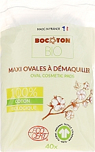Düfte, Parfümerie und Kosmetik Maxi-Wattepads oval 40 St. - Bocoton Bio