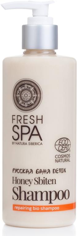 Farbschutz-Shampoo für coloriertes Haar - Natura Siberica Fresh Spa Russkaja Bania Detox Honey Sbiten Shampoo — Bild N1
