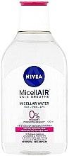 Düfte, Parfümerie und Kosmetik Mizellen Reinigungswasser für trockene und sensible Haut - Nivea MicellAIR Micellar Cleansing Water
