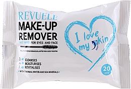 Düfte, Parfümerie und Kosmetik Feuchttücher zum Abschminken mit Thermalwasser und Meeresmineralien - Revuele Make-Up Remover I Love My Skin Wet Wipes