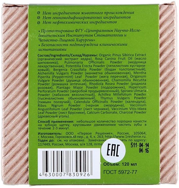 100% Natürliches Kräuterzahnpulver - Rezepte der Oma Agafja — Bild N5