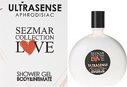 Düfte, Parfümerie und Kosmetik Duschgel - Sezmar Collection Love Ultrasense Aphrodisiac Shower Gel