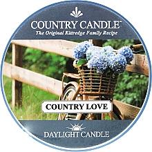 Düfte, Parfümerie und Kosmetik Duftkerze Daylight Country Love - Country Candle Country Love
