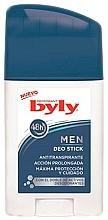Düfte, Parfümerie und Kosmetik Deostick Antitranspirant - Byly For Men 72h Deodorant Stick